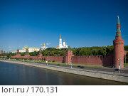 Купить «Кремлевская набережная», фото № 170131, снято 23 июня 2007 г. (c) Петухов Геннадий / Фотобанк Лори
