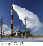 Купить «Нефтеперерабатывающий завод», фото № 170167, снято 5 января 2008 г. (c) Юрий Назаров / Фотобанк Лори