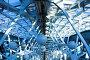 Конструкция потолка со стеклянными сферами, фото № 170415, снято 26 августа 2007 г. (c) Бабенко Денис Юрьевич / Фотобанк Лори