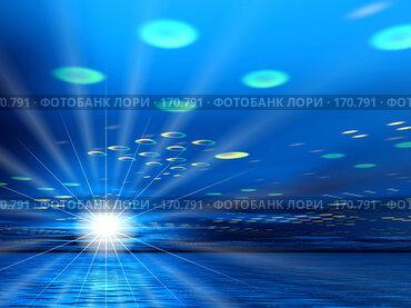 Купить «Ночная звезда», иллюстрация № 170791 (c) ElenArt / Фотобанк Лори