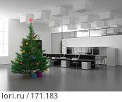 Купить «Рождество в офисе», фото № 171183, снято 29 февраля 2020 г. (c) Виктор Застольский / Фотобанк Лори