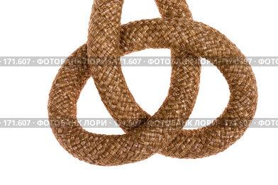 Купить «Узел на веревке», фото № 171607, снято 9 сентября 2007 г. (c) Максим Горпенюк / Фотобанк Лори