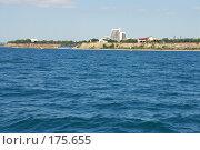 Купить «Анапа - вид с моря», фото № 175655, снято 10 июля 2007 г. (c) Федор Королевский / Фотобанк Лори