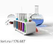 Купить «Лабораторное стекло», иллюстрация № 176687 (c) Виктор Застольский / Фотобанк Лори