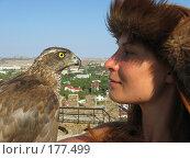 Купить «Амазонка с соколом», фото № 177499, снято 29 августа 2007 г. (c) Татьяна Высоцких / Фотобанк Лори
