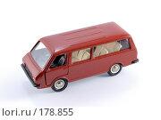 Купить «Коллекционная масштабная модель легкового автомобиля РАФ - микроавтобус», фото № 178855, снято 17 января 2008 г. (c) Денис Дряшкин / Фотобанк Лори