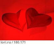 Сердца. Стоковая иллюстрация, иллюстратор Светлана Архи / Фотобанк Лори