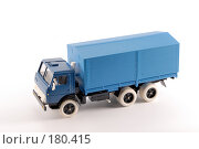 Купить «Коллекционная масштабная модель грузового автомобиля Камаз», фото № 180415, снято 17 января 2008 г. (c) Денис Дряшкин / Фотобанк Лори