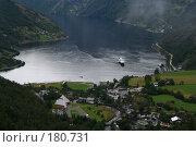 Купить «Вид на Гейрангер Фьорд. Норвегия», фото № 180731, снято 28 августа 2007 г. (c) Наталья Белотелова / Фотобанк Лори