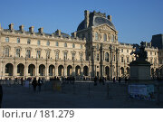 Купить «Лувр», фото № 181279, снято 20 декабря 2007 г. (c) Вадим / Фотобанк Лори