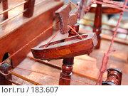 Купить «Маленькая лодочка от большого деревянного корабля», фото № 183607, снято 26 июля 2007 г. (c) Карасева Екатерина Олеговна / Фотобанк Лори