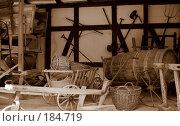 Сельскохозяйственный инвентарь. Стоковое фото, фотограф Алёна Фомина / Фотобанк Лори