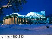 Купить «Новосибирский государственный академический театр оперы и балета (НГАТОиБ)», фото № 185283, снято 20 января 2008 г. (c) Виктор Ковалев / Фотобанк Лори