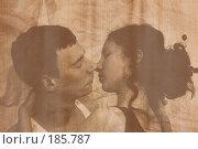 Купить «За секунду до поцелуя. Обработка под старую фотографию, зерно, тонирование», фото № 185787, снято 19 января 2008 г. (c) Арестов Андрей Павлович / Фотобанк Лори