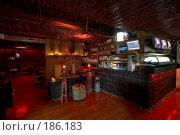 Купить «Ресторан японской кухни. Фрагмент интерьера зала. Бар и пульт диджея.», фото № 186183, снято 10 октября 2005 г. (c) Иван Сазыкин / Фотобанк Лори