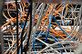 Хаос из проводов и контактов, фото № 186539, снято 21 июля 2017 г. (c) Баевский Дмитрий / Фотобанк Лори