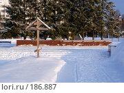 Фрагмент мемориального комплекса в память погибших на космодроме Плесецк. Редакционное фото, фотограф Крупнов Денис / Фотобанк Лори