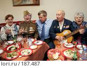 Купить «Анпилов с ветеранами», фото № 187487, снято 21 июня 2006 г. (c) Константин Куцылло / Фотобанк Лори
