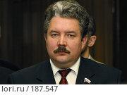 Купить «Сергей Бабурин», фото № 187547, снято 4 марта 2004 г. (c) Константин Куцылло / Фотобанк Лори