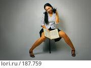 Купить «Сексуальная студентка», фото № 187759, снято 26 января 2008 г. (c) Анатолий Типляшин / Фотобанк Лори