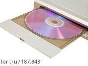 Купить «CD-проигрыватель с диском», фото № 187843, снято 25 января 2008 г. (c) Угоренков Александр / Фотобанк Лори