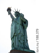 Купить «Статуя Свободы в Нью-Йорке», фото № 188379, снято 24 мая 2007 г. (c) Игорь Сидоренко / Фотобанк Лори