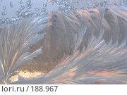 Купить «Автограф Деда Мороза на моём окне», фото № 188967, снято 7 января 2008 г. (c) Федор Королевский / Фотобанк Лори