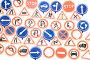 Игрушечные дорожные знаки, фото № 189255, снято 29 января 2008 г. (c) Угоренков Александр / Фотобанк Лори