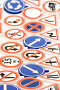 Игрушечные дорожные знаки, фото № 189259, снято 30 января 2008 г. (c) Угоренков Александр / Фотобанк Лори