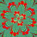 Фрактал цветок, иллюстрация № 189615 (c) Geo Natali / Фотобанк Лори