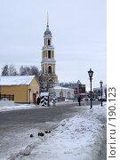 Колокольня в Коломне (2008 год). Стоковое фото, фотограф Людмила Жукова / Фотобанк Лори