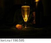 Купить «Шампанское», фото № 190595, снято 9 ноября 2007 г. (c) Бушева Анастасия / Фотобанк Лори