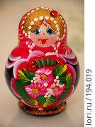 Купить «Русская матрешка», фото № 194019, снято 11 января 2008 г. (c) Golden_Tulip / Фотобанк Лори