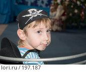 Купить «Мальчик в костюме пирата», эксклюзивное фото № 197187, снято 5 января 2008 г. (c) Алина Голышева / Фотобанк Лори