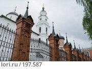 Купить «Ансамбль Волоколамского кремля», фото № 197587, снято 26 августа 2007 г. (c) Юрий Синицын / Фотобанк Лори