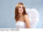Купить «Невеста ангел», фото № 197831, снято 14 октября 2007 г. (c) Ольга С. / Фотобанк Лори