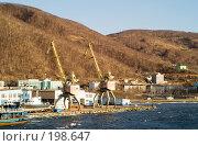 Купить «Порт. Петропавловск-Камчатский.», фото № 198647, снято 12 декабря 2007 г. (c) Ирина Игумнова / Фотобанк Лори