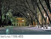 Купить «Зимний городской пейзаж», фото № 199455, снято 25 мая 2018 г. (c) Игорь Струков / Фотобанк Лори