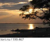 Купить «Закат солнца», фото № 199467, снято 11 октября 2006 г. (c) Игорь Струков / Фотобанк Лори