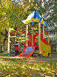 Детский игровой комплекс, фото № 199695, снято 23 сентября 2007 г. (c) Ольга Хорькова / Фотобанк Лори