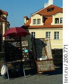 Купить «Прага, Карлов мост», фото № 200771, снято 10 мая 2006 г. (c) Светлана Шушпанова / Фотобанк Лори