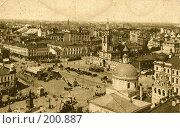 Купить «Старая Москва, Страстная площадь», фото № 200887, снято 14 ноября 2019 г. (c) Ирина Терентьева / Фотобанк Лори