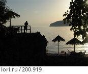 Купить «Вечер на море», фото № 200919, снято 17 сентября 2007 г. (c) УНА / Фотобанк Лори