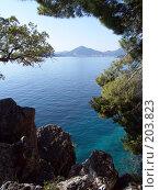 Купить «Черногория, Будва», фото № 203823, снято 17 сентября 2007 г. (c) УНА / Фотобанк Лори