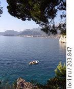 Купить «Черногория, Будва», фото № 203847, снято 17 сентября 2007 г. (c) УНА / Фотобанк Лори