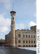 Купить «Вышка пожарной части», фото № 204139, снято 16 февраля 2008 г. (c) Катыкин Сергей / Фотобанк Лори