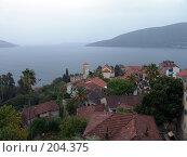 Купить «Черногория, Герцег Нови», фото № 204375, снято 26 сентября 2007 г. (c) УНА / Фотобанк Лори