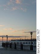 Купить «Таганрог. Вид на морской порт с набережной.», фото № 205167, снято 16 февраля 2008 г. (c) Игорь Струков / Фотобанк Лори