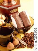 Купить «Кофе и пирожные», фото № 205903, снято 18 февраля 2008 г. (c) Лифанцева Елена / Фотобанк Лори
