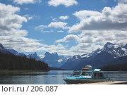 Купить «Озеро в горах», фото № 206087, снято 11 июля 2007 г. (c) Алёна Фомина / Фотобанк Лори